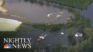 North Carolina Homeowners Without Flood Insurance Face Financial Risk | NBC Nightly News