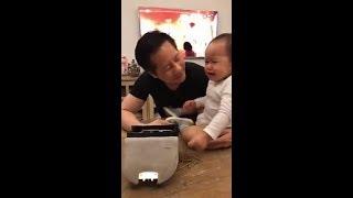 Bé Bồ Câu con gái Phan Như Thảo giận lẫy bố mẹ
