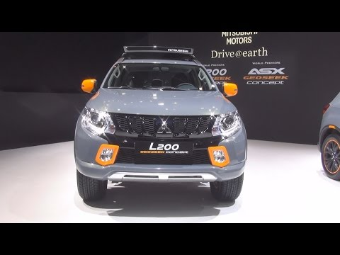 Mitsubishi L200 Geoseek Concept (2016) Exterior and Interior in 3D