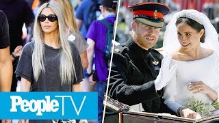 Kim Kardashian In Disneyland, Prince Harry & Meghan Markle's Reception Speeches   PeopleTV