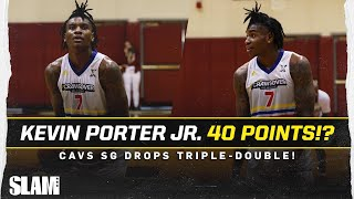 Kevin Porter Jr. ERUPTS for 40 POINT Triple-Double!!! 🔥 Cavs SG goes CRAZY in Seattle return