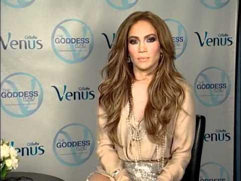 Jennifer Lopez voor Venus Gilette