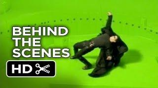 The Matrix Behind The Scenes - Rooftop (1999)  - Keanu Reeves Movie HD