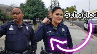Fresno's corrupt cops do the 🔴Walk 🔵of shame part 1 TCCW 🔵1st amendment🔴 audit