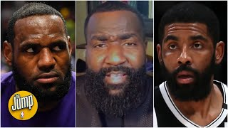 The Jump reacts to LeBron saying he was 'hurt' by Kyrie Irving's comments during the 2020 Finals