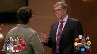 The Big Bang Theory - Guys meet Bill Gates