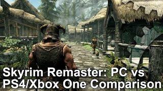 Skyrim Special Edition - PC vs PS4/Xbox One Grafikai Összehasonlítás