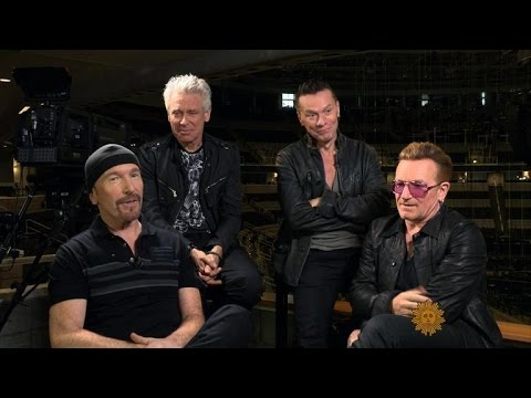 U2 on their brand-new tour