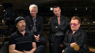 U2 on their brand-new tour