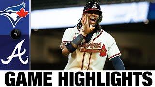 Three Braves homer in 10-1 win vs. Blue Jays | Blue Jays-Braves Game Highlights 8/4/20