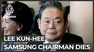 Lee Kun-hee, man behind Samsung's rise to tech titan, dies at 78