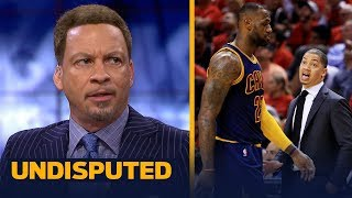Chris Broussard on Ty Lue giving advice to Luke Walton on coaching LeBron | NBA | UNDISPUTED