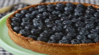 Blueberry Tart Recipe Demonstration - Joyofbaking.com
