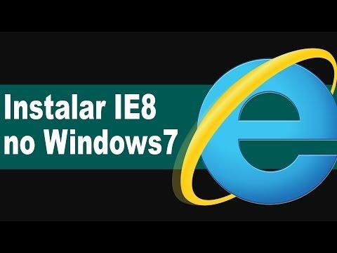 Baixar Como Instalar Internet Explorer 8 no Windows 7 | TUTORIAL