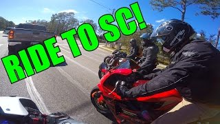 Ride to South Carolina! - Lane-splitting, Wheelies, & FUN!!!