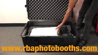 How to put T11 2.5 Photobooth Shell inside the SKB Travel Case