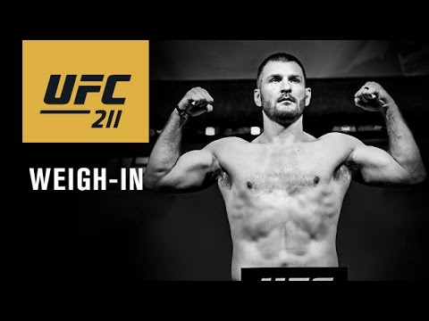 UFC 211: Transmisja oficjalnej ceremonii ważenia na żywo w MMAnews o 01:00 w nocy