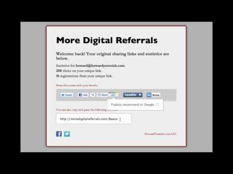 Sharing Unique Links for More Digital Referrals