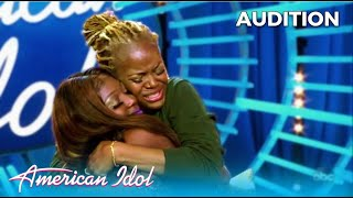 Jahzan: New York Jamaican HOMELESS Girl and Her Mom Audition Will Make You Cry | @American Idol 2020