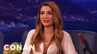 Nasim Pedrad Tried To Explain Uber To Her Dad  - CONAN on TBS