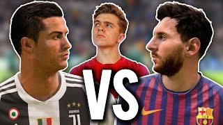 MESSI vs RONALDO Battle | FIFA 19