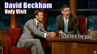 David Beckham - Gets A Reaction From Lesbian Row - His Only Appearance [720]