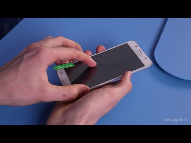 Belsimpel-productvideo voor de Mobilize Clear Screenprotector Samsung Galaxy S5/S5 Plus/S5 Neo 2-Pack
