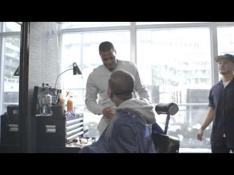 Video: MasterCard partnered with All-Star point guard Kyle Lowry and his personal Toronto barber to give Raptor fans an experience like no other. When fans arrived at the barbershop they were expecting a cut and a free Raptors T-shirt for paying with their BMO MasterCard. Instead they got a Priceless Surprise.