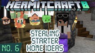 HermitCraft 8 ep 6 — Stealing starter house ideas!