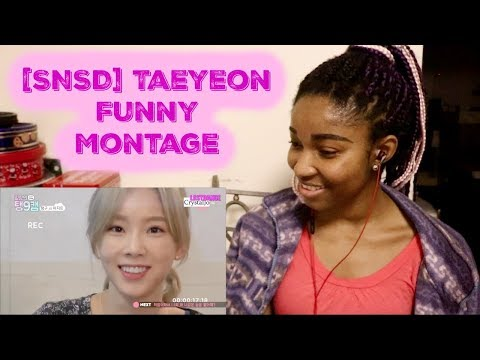 [Taeyeon Funny Montage] Her silliness that turns you on [SNSD REACTION]