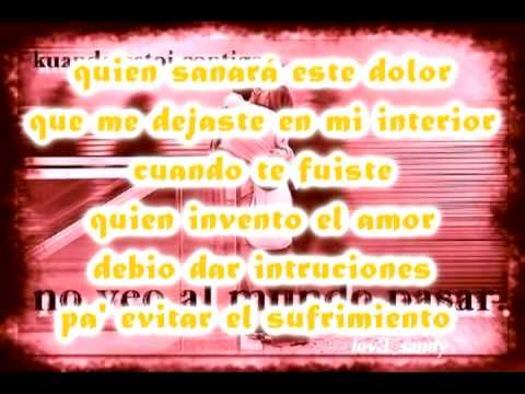 video ensenaste querer ensename olvidar: