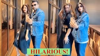 This video of Shilpa Shetty and Raj Kundra will leave you ..
