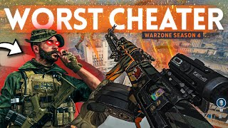 We spectated the WORST Cheater in COD Warzone Season 4