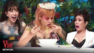 Việt Hương, Hari Won kinh ngạc khi chứng kiến cô gái ăn hơn 100 trái ớt cùng một lúc | Người Bí Ẩn