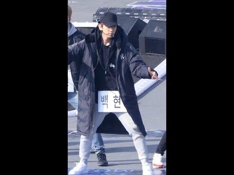 161118 첸백시 (EXO-CBX) Hey Mama! 드라이 리허설 [백현] BAEKHYUN 직캠 Fancam (뮤직뱅크 in 경주) by Mera