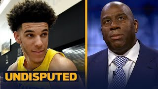 Magic details his relationship with LaVar Ball, expectations for Lonzo's rookie year | UNDISPUTED