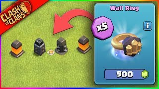 'BUYING 5 WALL RINGS..?' ▶️ Clash of Clans ◀️ WORST. IDEA. EVER.