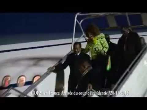 Le Président Paul BIYA et la Première Dame à Paris pour la COP 21