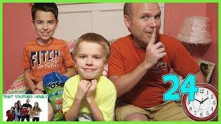 24 Hours In Jordan's Room / That YouTub3 Family