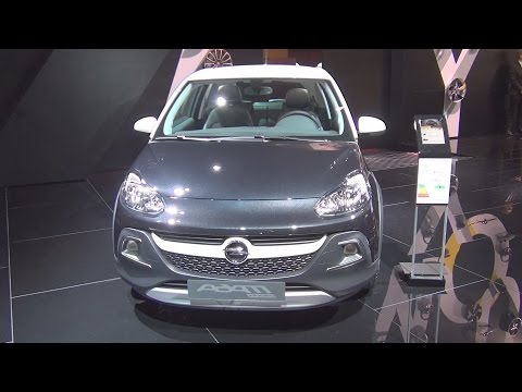 Opel Adam Rocks 1.4 87 hp Start&Stop (2017) Exterior and Interior in 3D