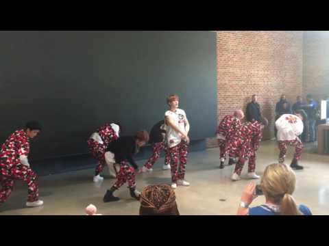170625 NCT 127- CHERRY BOMB @ APPLE STORE IN Williamsburg, Brooklyn, NY