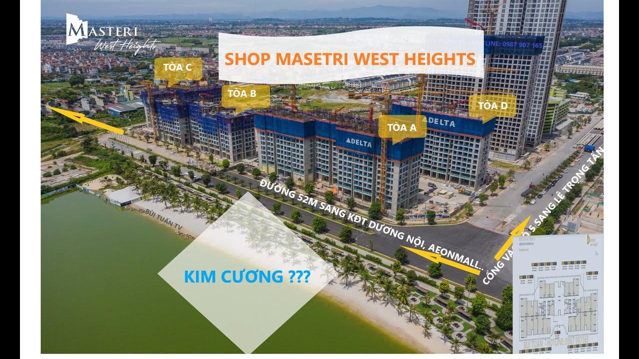 Bán shophouse Masteri West Heights Smart City Tây Mỗ - Đại Mỗ video