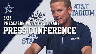 Head Coach Jason Garrett Postgame Preseason Week 3 | Dallas Cowboys 2019