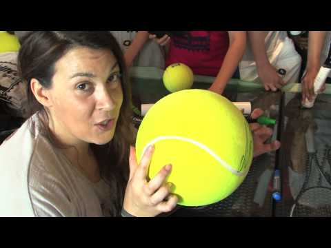 Marion Bartoli Signature Ball