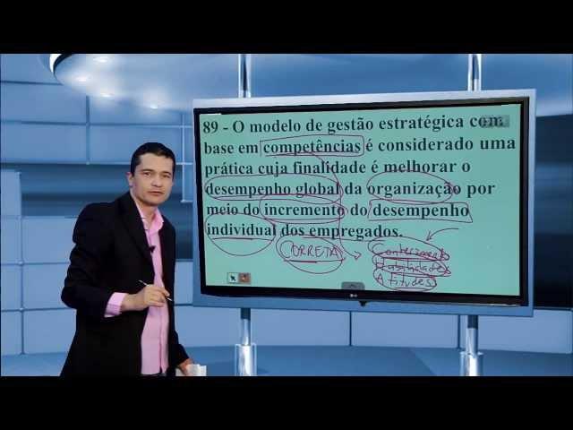 [MPU 2013: Correção da prova de Controle Cultura Organizacional]