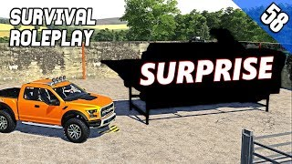 THE SURPRISE...WHAT HAS DENNIS GOT US?  - Survival Roleplay S2 | Episode 58