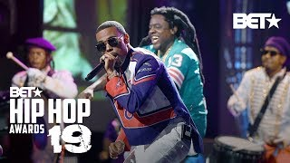 Lil Duval, TOM. G & KaMillion Turn Up In City Boys Performance! | Hip Hop Awards '19
