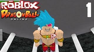 Roblox Dragon Ball Z Online: Character Creation | SSJGSSJ Broly?!