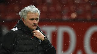 José Mourinho claims Manchester United are scared to play