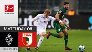 Borussia M'gladbach - FC Augsburg   1-1   Highlights   Matchday 8 – Bundesliga 2020/21